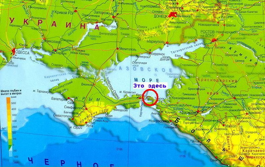 Где находятся кучугуры из сериала сваты на карте